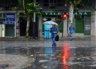 Para mañana se esperan fuertes precipitaciones en Jaén capital. FOTO: HoraJaén