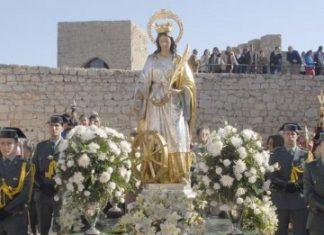 Romería de Santa Catalina en el castillo de Jaén en 2016.
