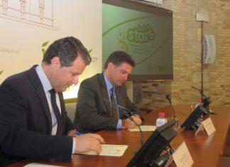 Firma carta proyecto STARS entre Diputación y Tráfico.