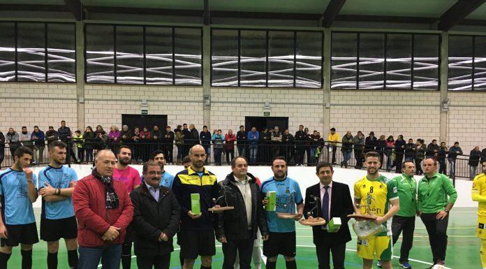 Inauguración del nuevo pabellón polideportivo de Orcera.