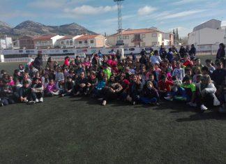La delegada de Educación en las jornadas solidarias en Alcaudete.