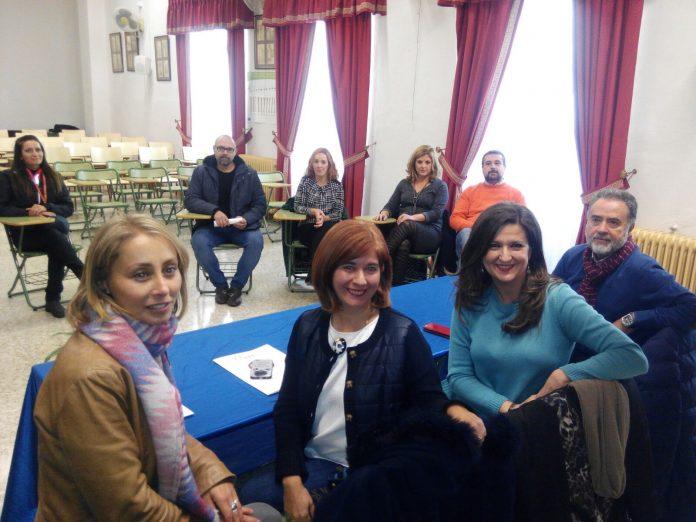 La delegada de Educación junto a la alcaldesa de Úbeda en la presentación de este programa educativo.