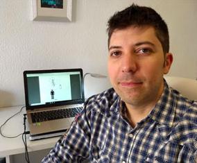 El investigador de la Universidad de Jaén, Francisco Javier Molina.