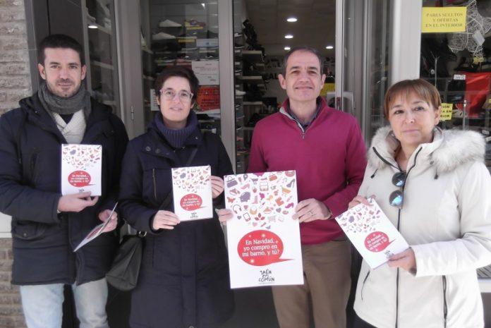 Miembros de Jaén en Común en la presentación de su campaña.