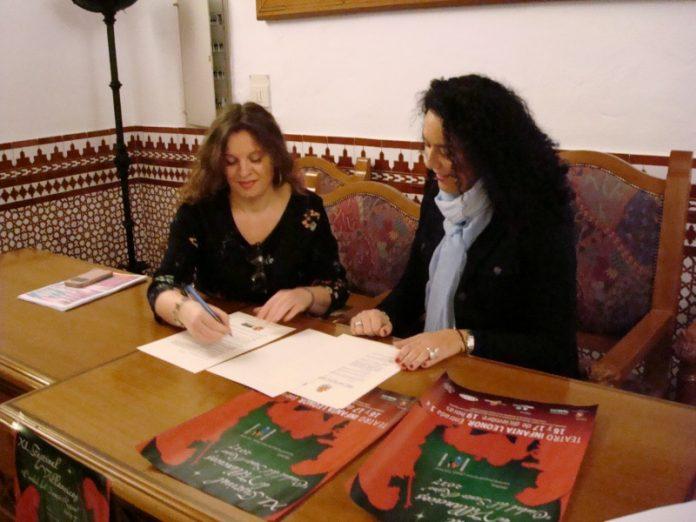 Firma convenio con la Asociación Lola Torres.