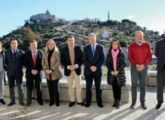 Reunión de los ocho subdelegados provinciales en el Cerro del Cabezo.