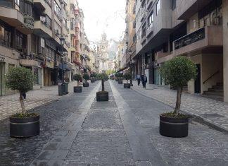 Bernabé Soriano completamente peatonal.