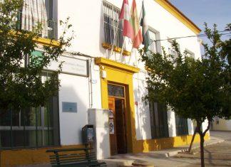 Actual colegio de Higuera de Calatrava.