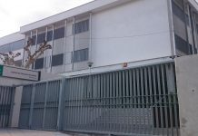 Fachada del instituto Fernando III.