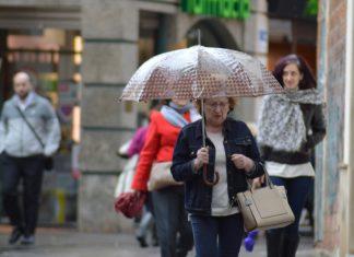 La lluvia será protagonista en las próximas horas en Jaén.