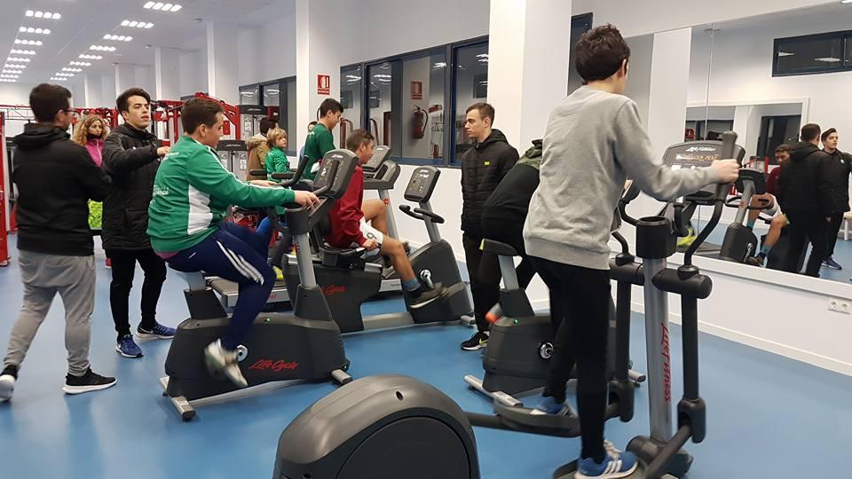 El ayuntamiento de beda abre el gimnasio municipal a for Gimnasio jaen