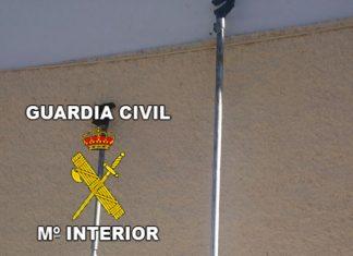 Maquinaria recuperada por la Guardia Civil de Jaén.