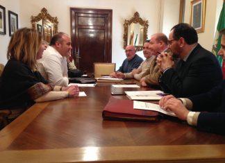 Reunión de concejales del Ayuntamiento con la asociación de vecinos Expansión Norte.