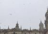 Última nevada en Jaén capital el pasado 19 de enero de 2017.