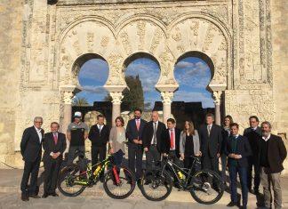 Presentación Andalucía Bike Race en Córdoba.