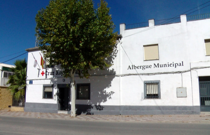 Albergue de Torredonjimeno que también ha cerrado ya sus puertas.