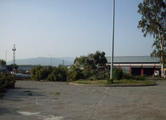 Terrenos de Vaciacostales donde iría la estación intermodal.