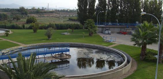 Depurador de agua en la provincia de Jaén.
