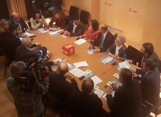 Reunión del PSOE en Madrid.
