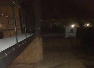Las crecidas de los ríos han sido constantes durante el día de ayer en Jaén.