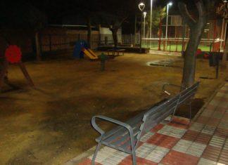 Parque Niño Jesús de Torreperogil donde ocurrieron los hechos.