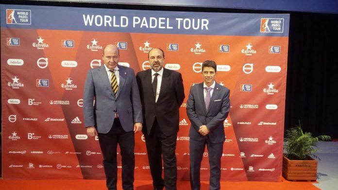 Presentación World Padel Tour en Madrid.
