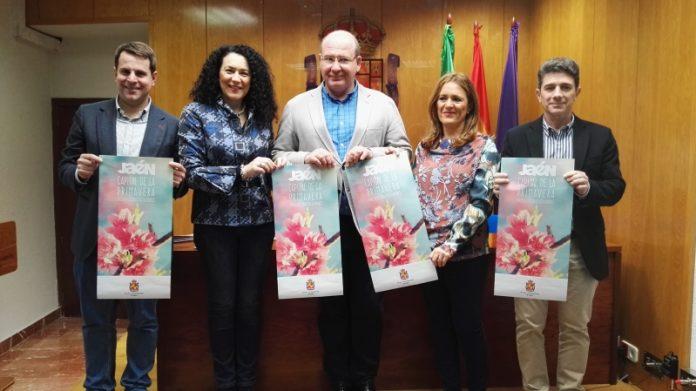 El alcalde de Jaén y cuatro concejales han presentado las actividades para la primavera.