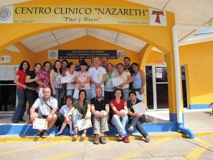 Equipo de la ONG Quesada Solidaria que ha participado en Nicaragua.