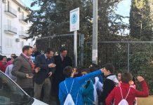 Inauguración caminos seguros en Cazorla.