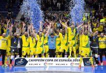 El Jaén FS campeón de la Copa de España