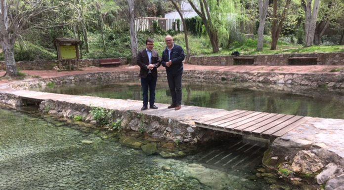 Visita paraje nacimiento río San Juan en Castillo de Locubín.