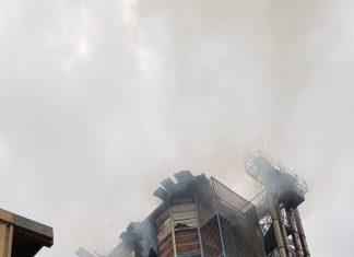 Así ha quedado el depósito tras la explosión. FOTO: HoraJaén