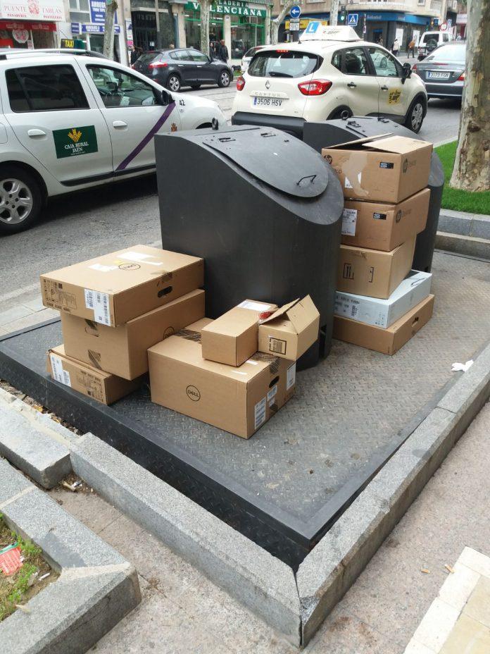 Campaña vigilancia de Policía Local de residuos urbanos.