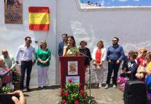 Cobo inauguración remodelación plaza toros Navas San Juan.