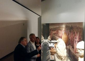 Visita del consejero de Cultura al Museo Íbero de Jaén-