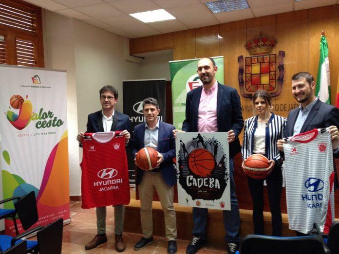 Presentación del Campeonato de Andalucía de baloncesto.
