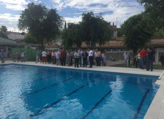Inauguración de la piscina de Fuerte del Rey.