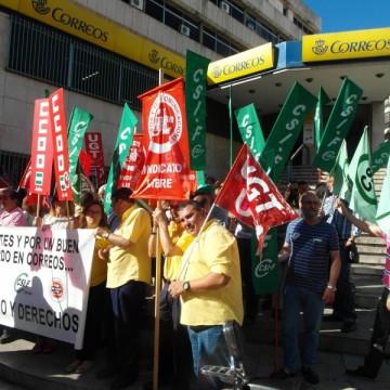 Desde el año 2015 vienen reclamando mejoras los trabajadores de Correos.