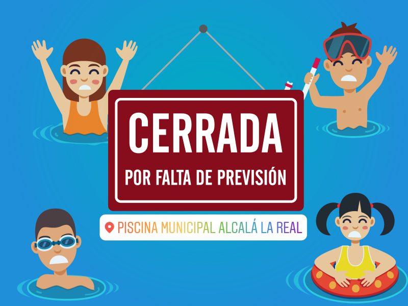 El pp de alcal la real denuncia que la piscina municipial for Piscina municipal alcala de guadaira