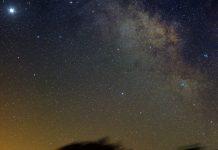 Vía Láctea vista desde Martos.