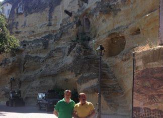 Visita a las obras del macizo rocoso Chiclana de Segura.