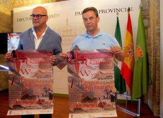Presentación VII Festival de la Encomienda en Chiclana de Segura.
