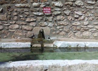 Agua no potable en Navas de San Juan.