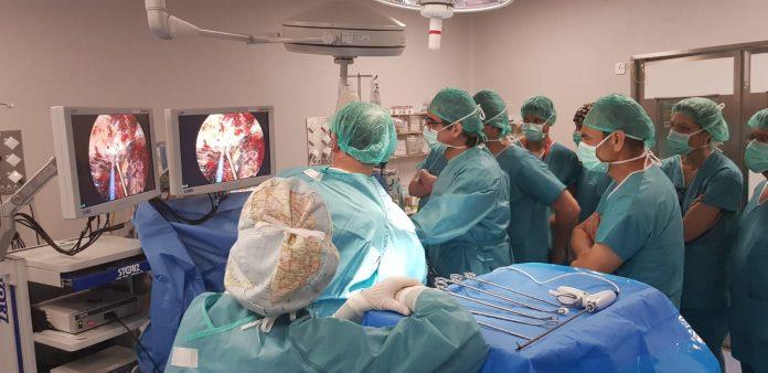 Una de las operaciones que se han realizado en el hospital.