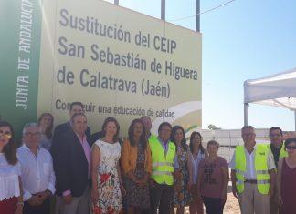 La consejera de Educación visita el CEIP San Sebastián de Higuera de Calatrava.