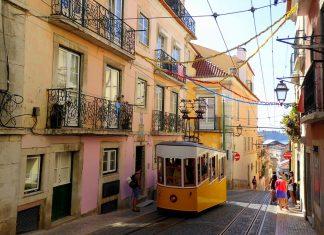 Imagen de una de las calles de Lisboa. FOTO: MJ García