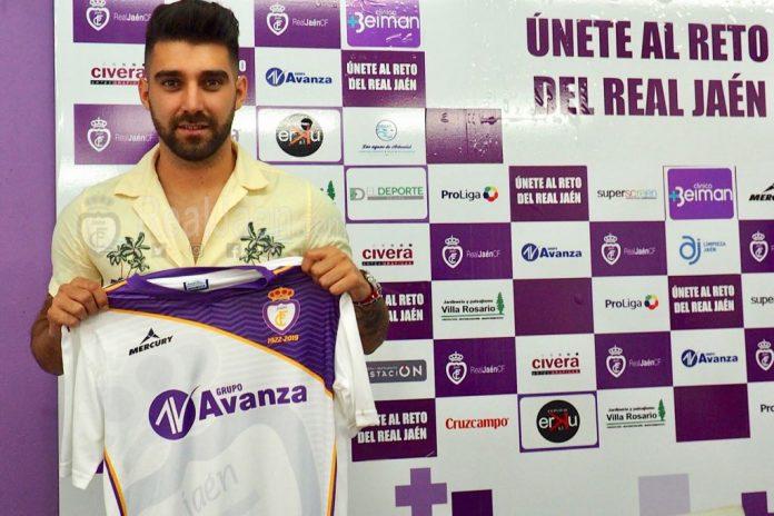 El nuevo jugador del Real Jaén.