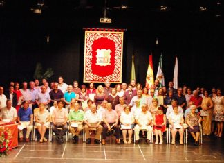 Homenaje a los 40 años de ayuntamientos democráticos.