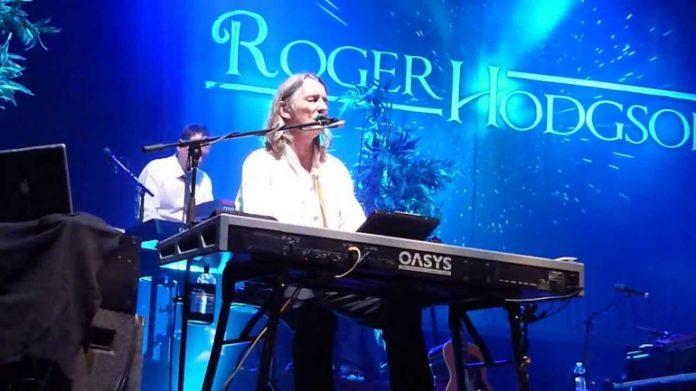 Rodger Hodson en concierto.
