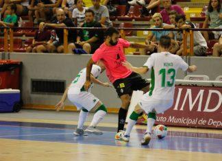 Imagen del encuentro disputado entre el Córdoba Futsal y el Jaén Paraíso Interior.